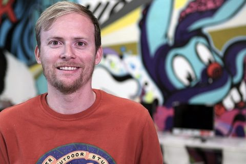 Photo: Jake Nickell, Co-founder at Threadless