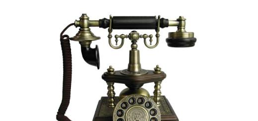 Photo: Worldtohome.com Antique Telephone Rotary Phone