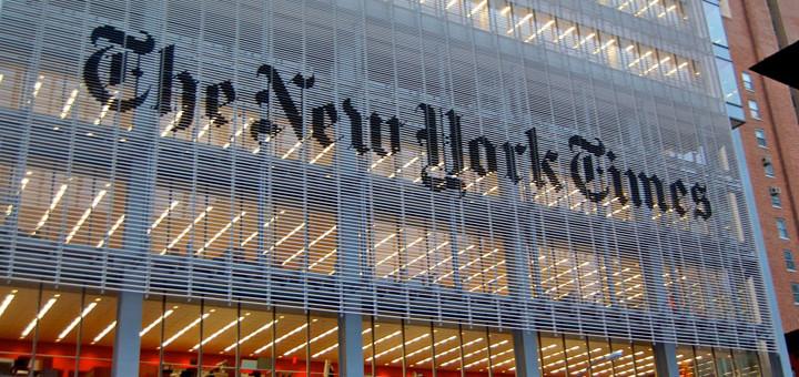 Photo: The New York Times Building; Source: Wikimedia, Haxorjoe