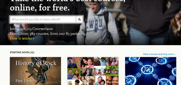 Photo: Coursera