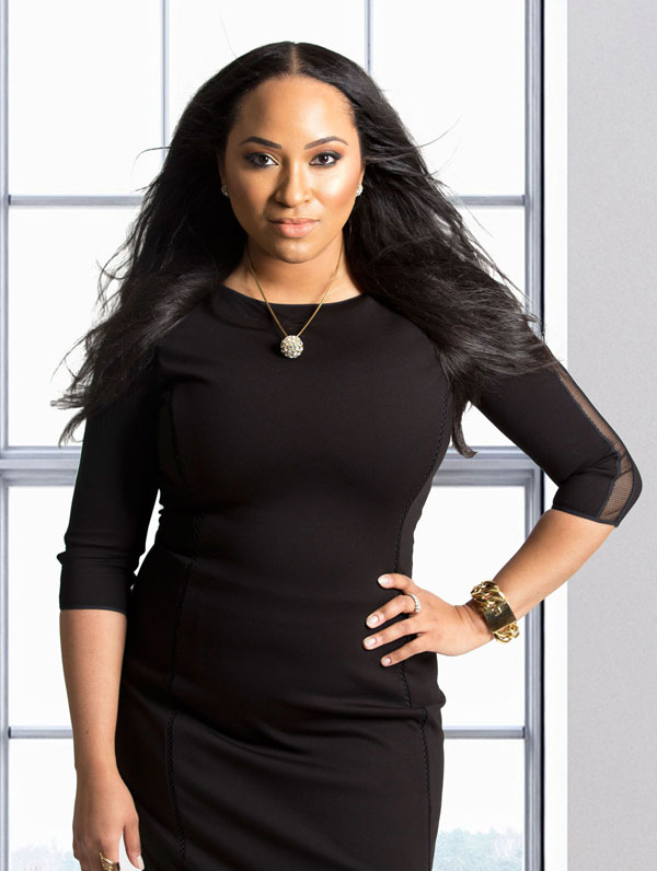 Photo: Erica Nicole, Founder and CEO, YFS Magazine; Source: Jhnea Turner Photography
