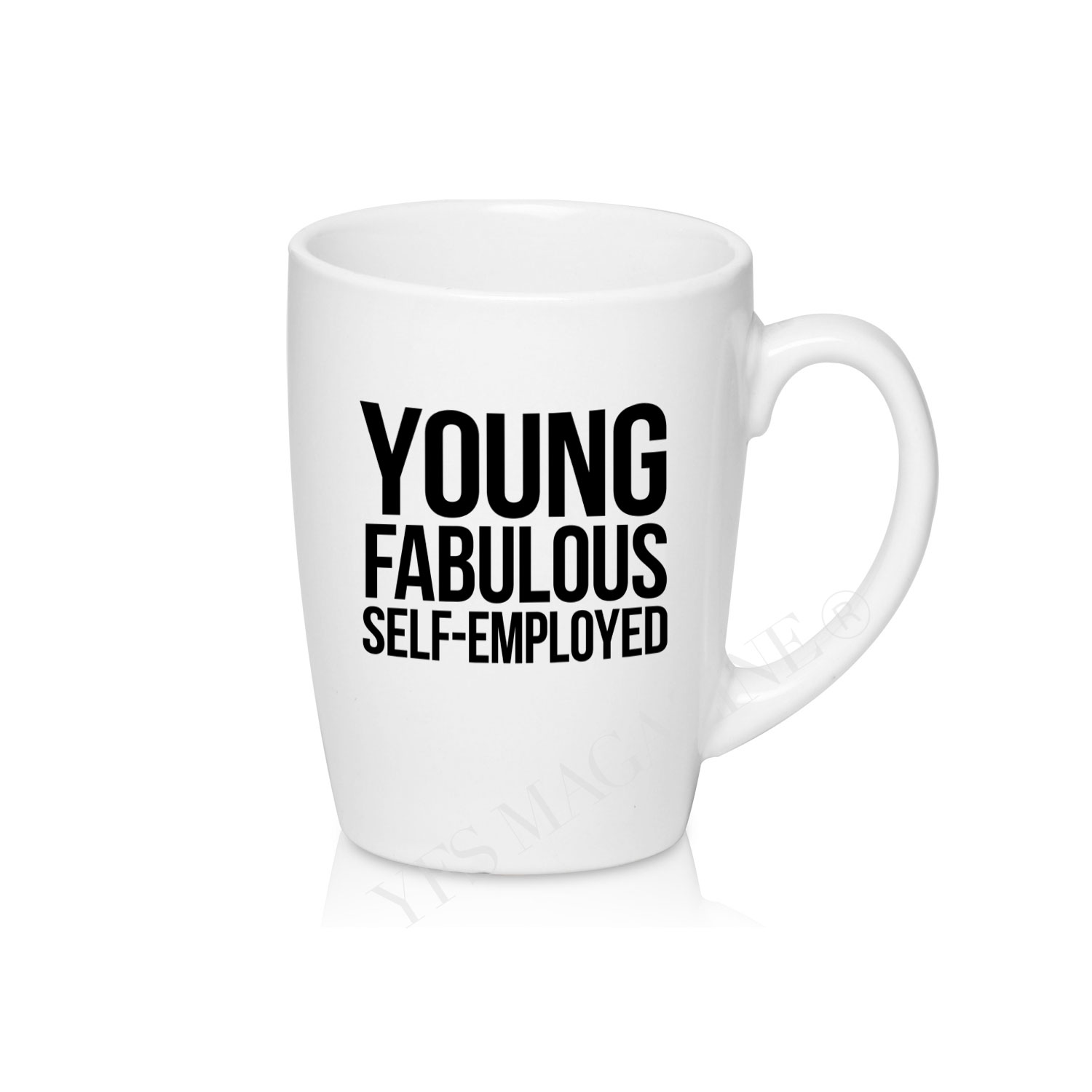 Young, Fabulous & Self-Employed® Coffee/Tea Mug