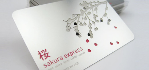 Photo: Metal Business Card; Source: Formink http://bit.ly/1bQDP73