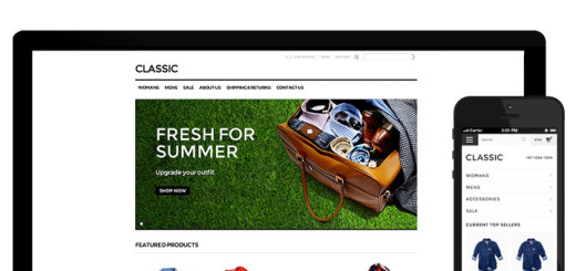 Photo: E-commerce website
