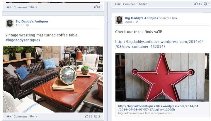 Photo: Big Daddy's Antiques Facebook Page