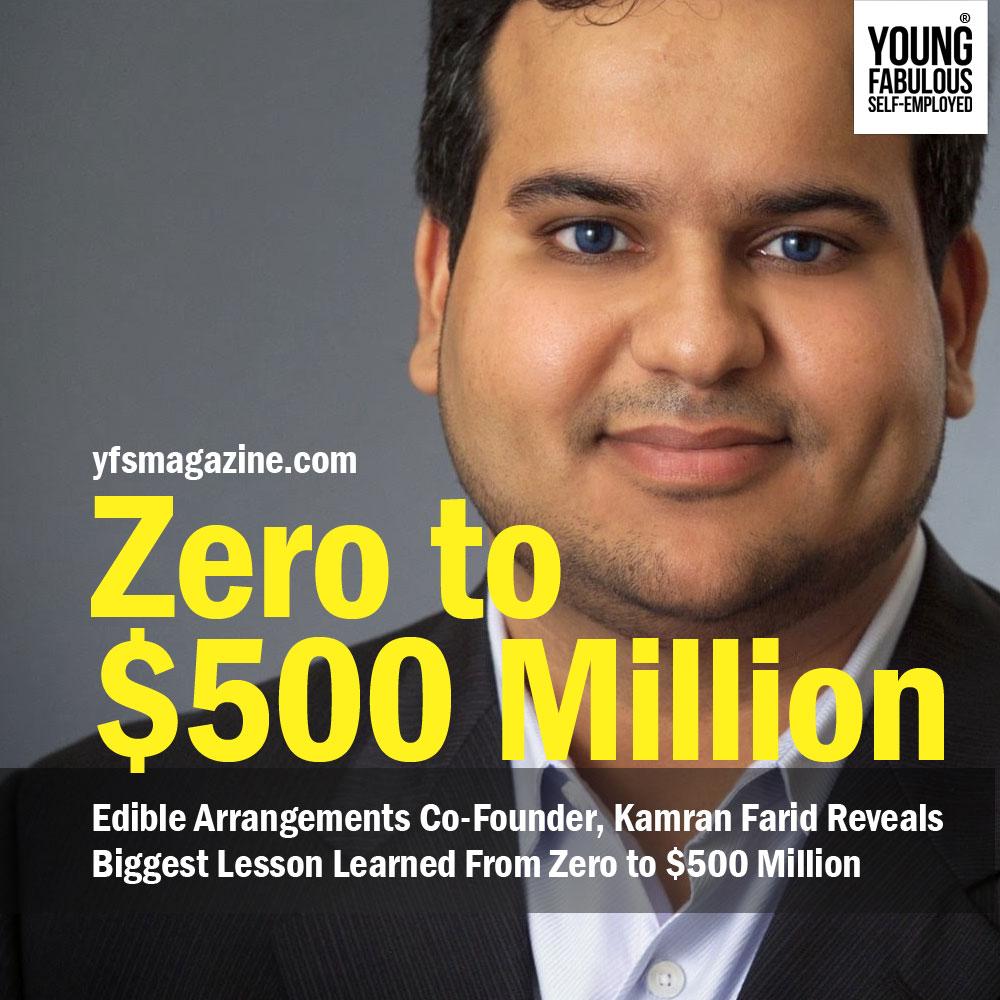 YFS Magazine Feature Kamran Farid