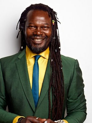 Photo: Serial entrepreneur, British TV personality Levi Roots; Source: Courtesy Photo