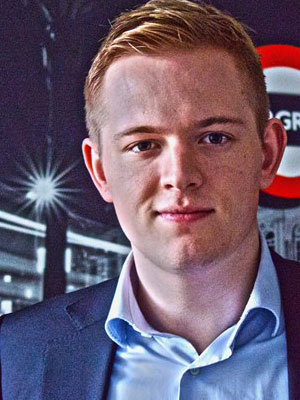 Photo: Bleddyn Pijpers, Co-founder at Hire Media Network; Source: Courtesy Photo