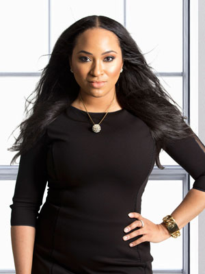 Photo: Erica Nicole, Founder and CEO of YFS Magazine; Source: Jhnea Turner, Photographer