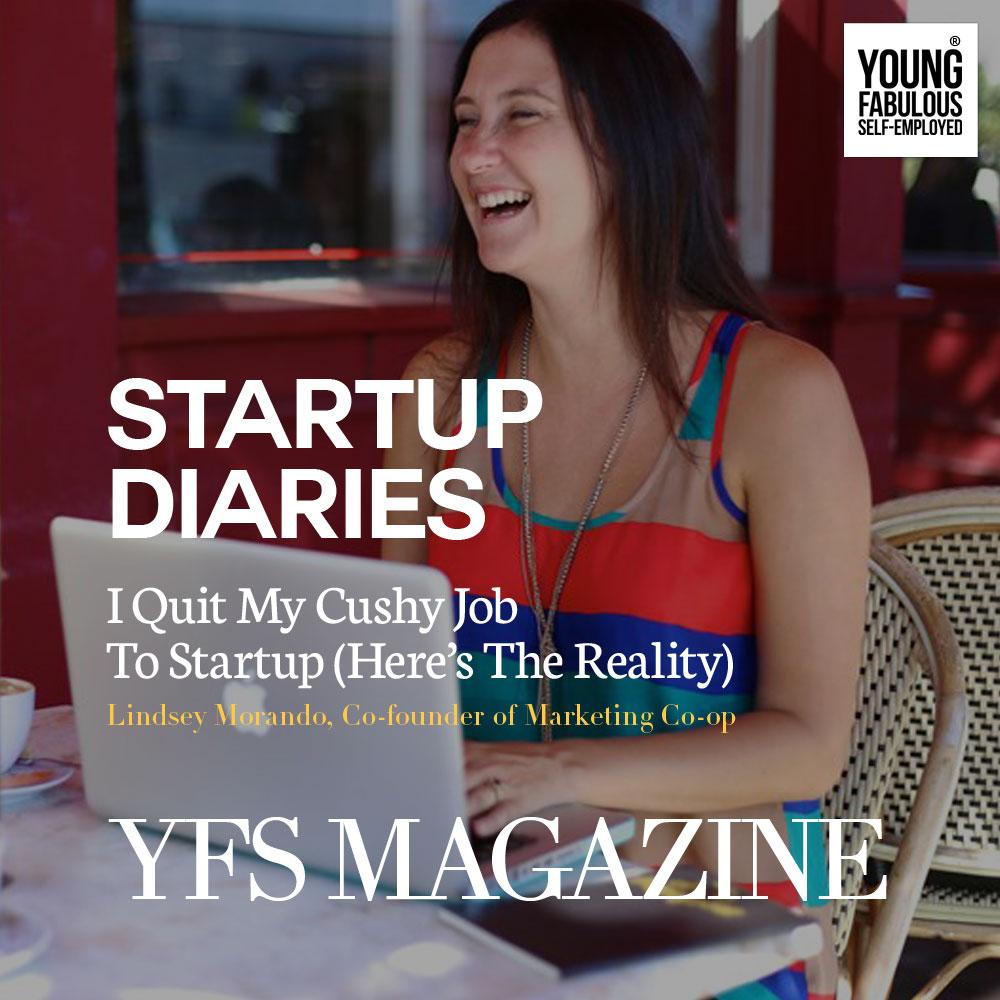 Lindsey Morando, Co-founder of Marketing Co-op