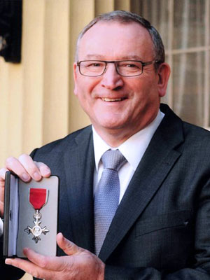 Photo: Keir McDonald MBE, Chief Executive Officer and Founder of EduCare; Source: Courtesy Photo