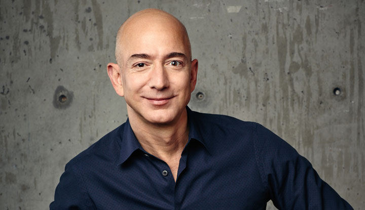 Photo: Amazon CEO Jeff Bezos; Source: Courtesy Photo