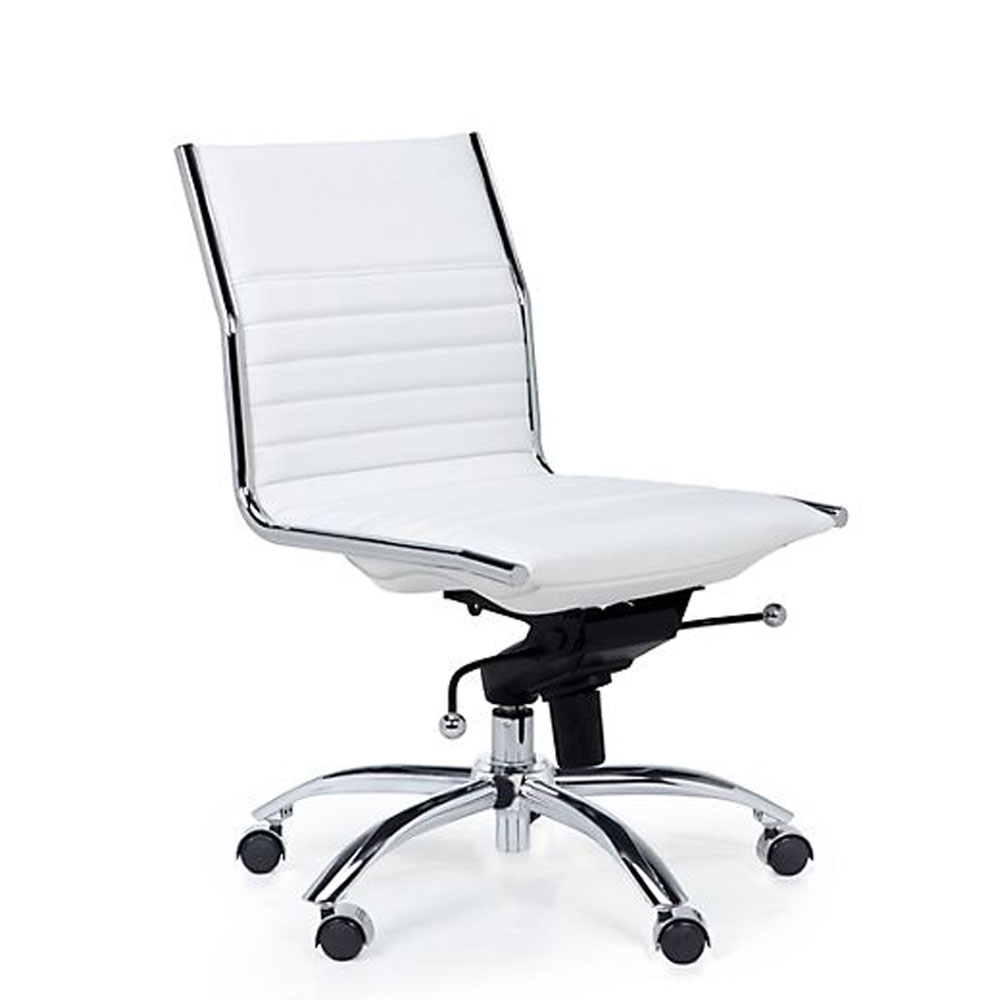 Modern White Office Chair. Modern White Office Chair H