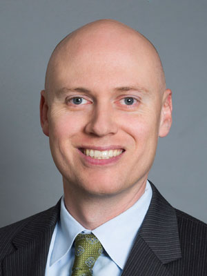 Photo: Christopher Grogan, Associate at Perkins Coie LLP; Source: Courtesy Photo