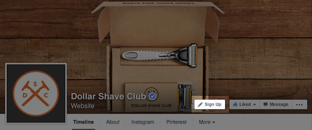 Photo: Dollar Shave Club; Source: Facebook