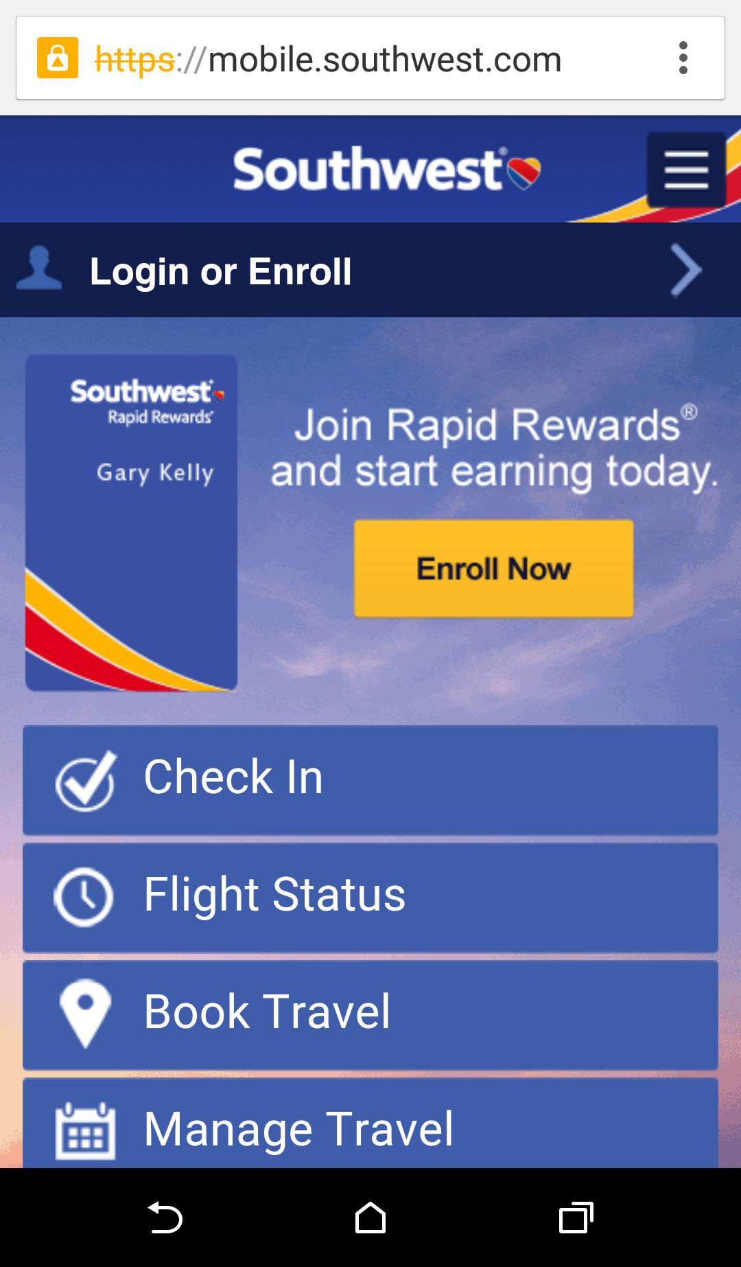 Photo: Southwest.com