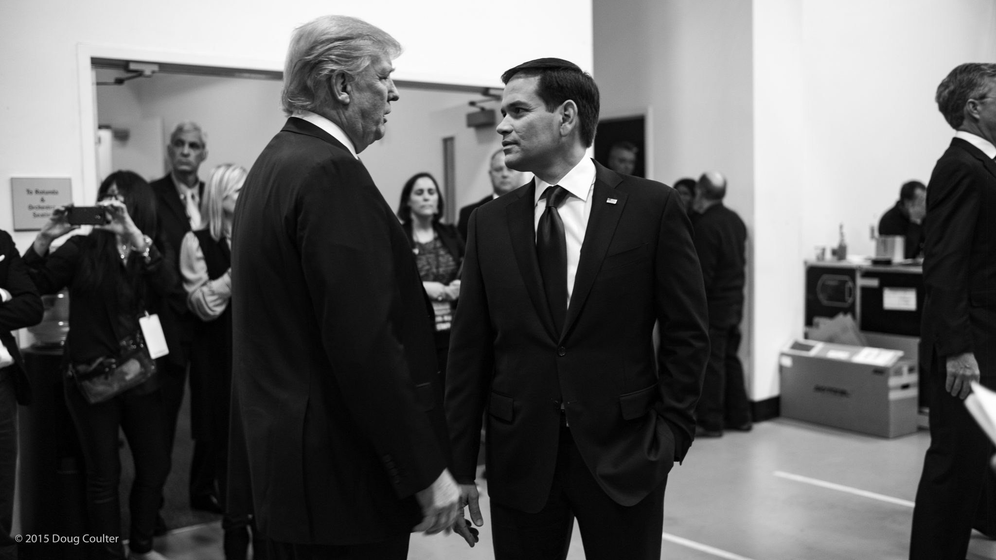 Photo: Marco Rubio and Donald Trump; Source: www.gop.com