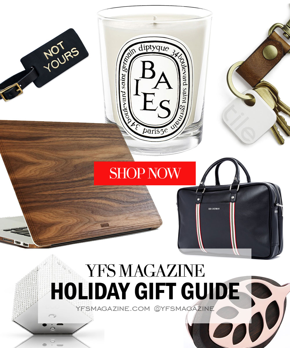 Photo: YFS Magazine 2015 Holiday Gift Guide