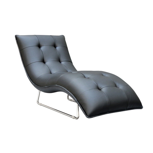 Photo: Hill Living Grain Leather Chaise Lounge by Container; Source: Wayfair