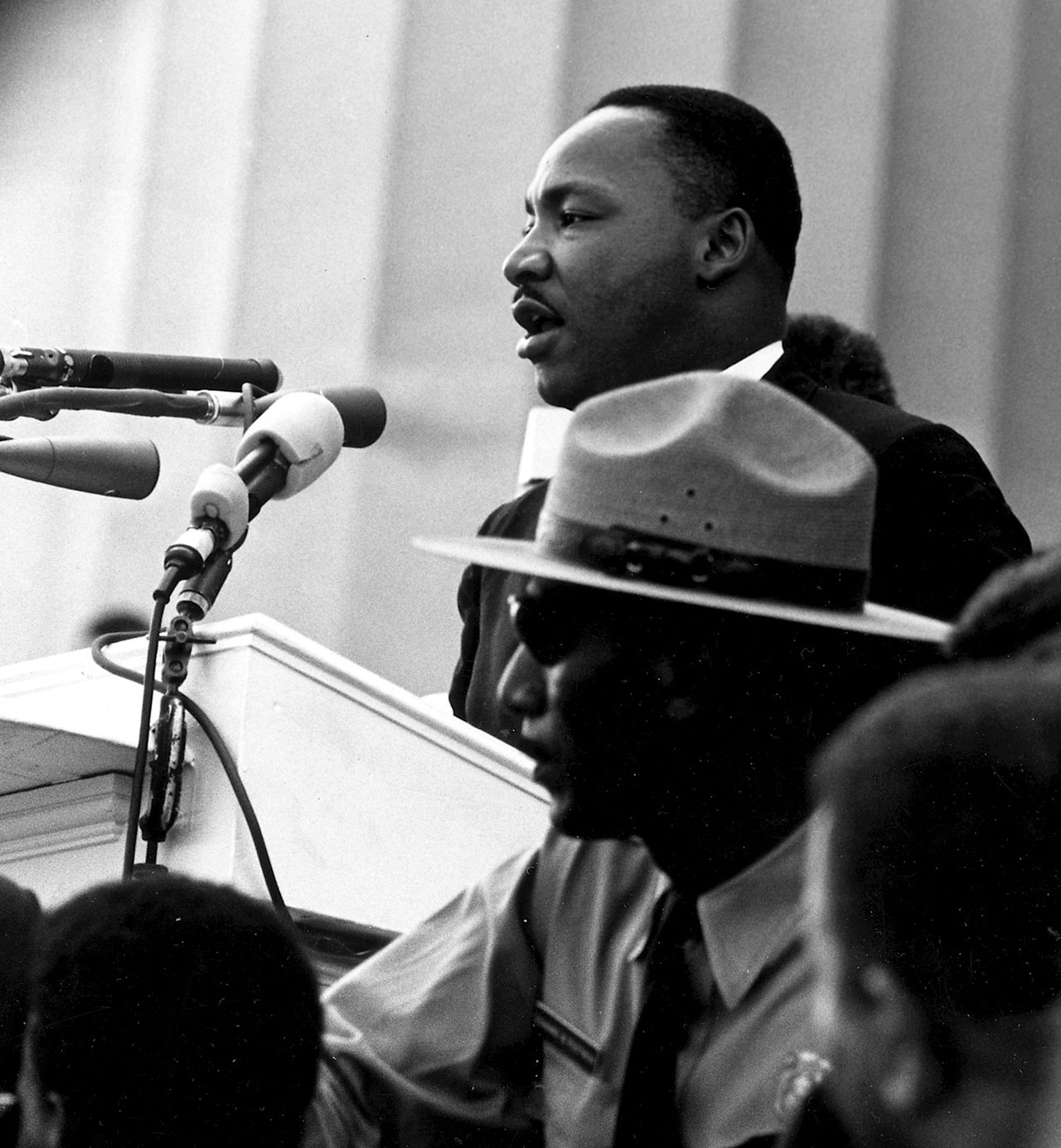 Photo: Dr. Martin Luther King, Jr. March on Washington; Source: United States Federal Government 17 U.S.C. § 105
