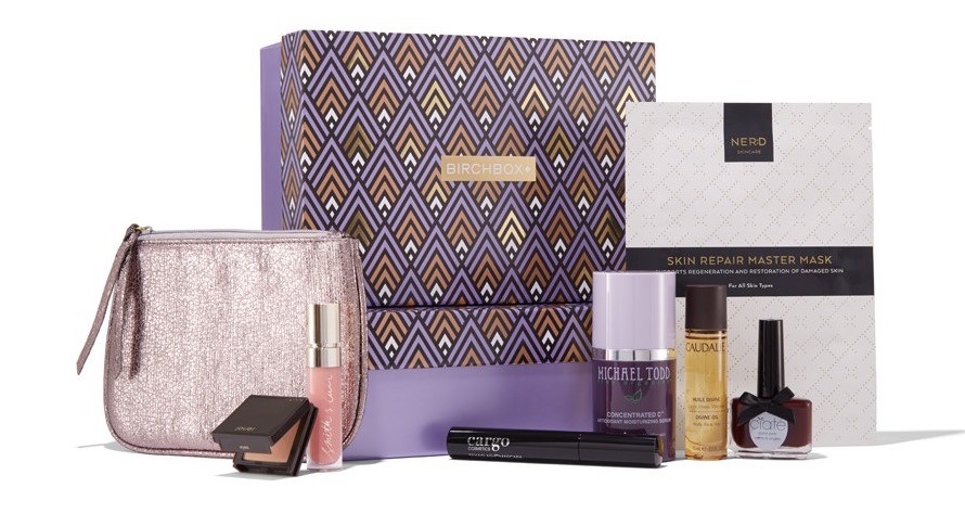 Photo: Birchbox, limited-edition Everyday Glamour Box; Source: Birchbox.com