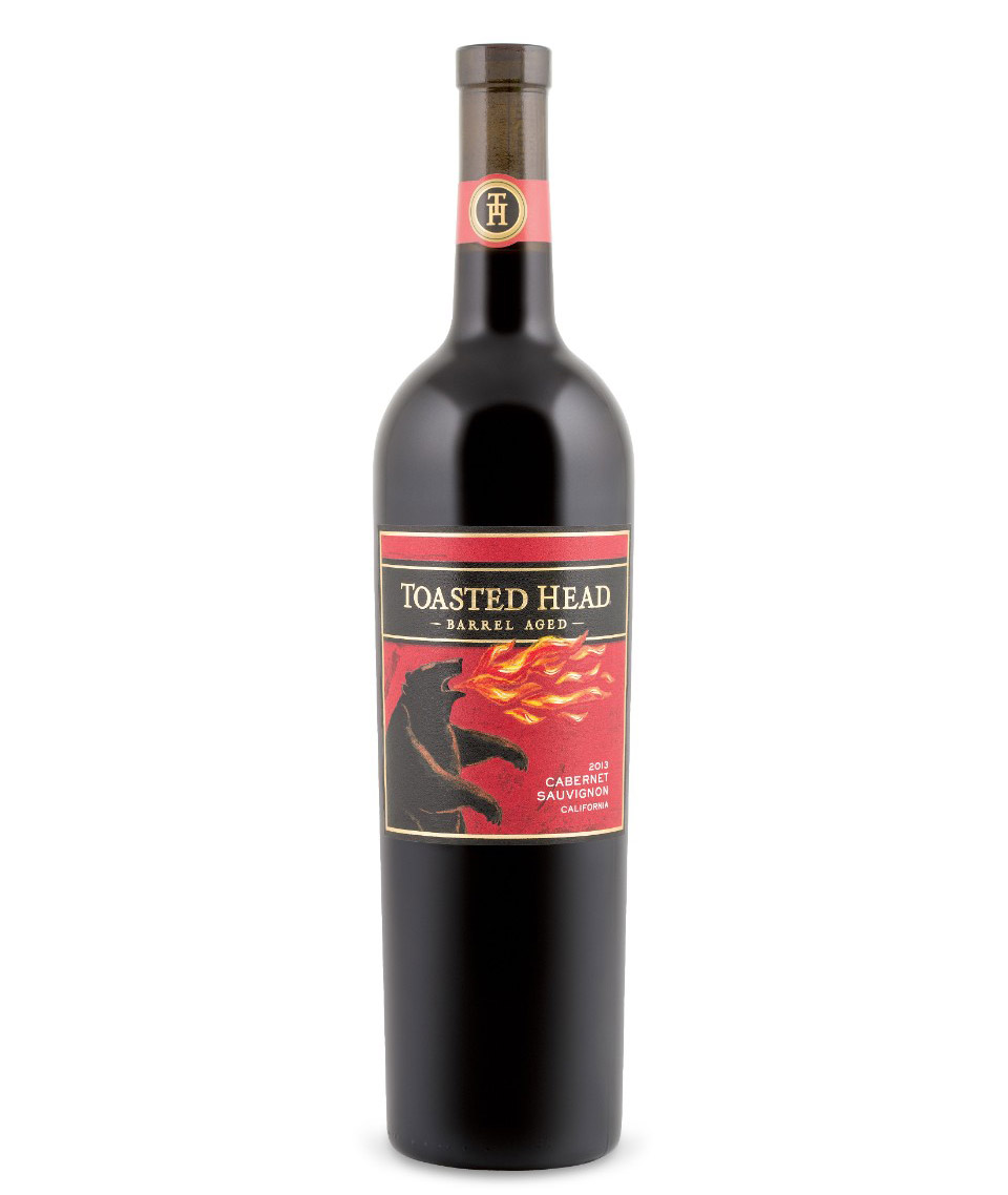 Photo: Toasted Head Barrel Aged Cabernet Sauvignon 2013; Source: lcbo.com
