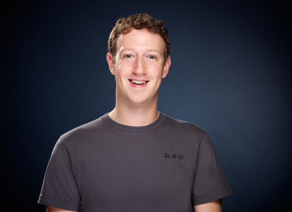 Photo: Mark Zuckerberg; Source: Courtesy Photo