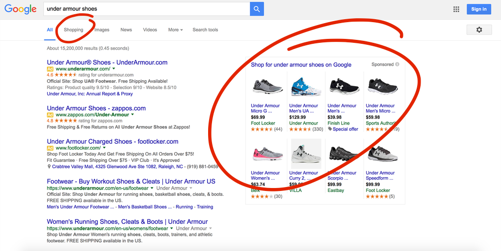 under armour shoes search results