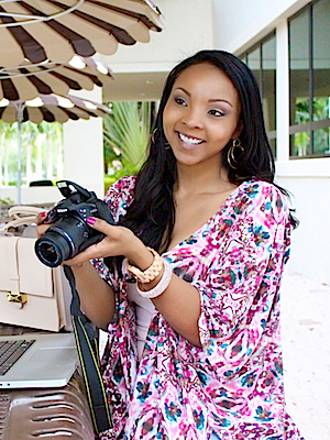 Photo: Tracy Timberlake, Beauty Vlogger & Video Marketing Strategist; Source: Courtesy Photo