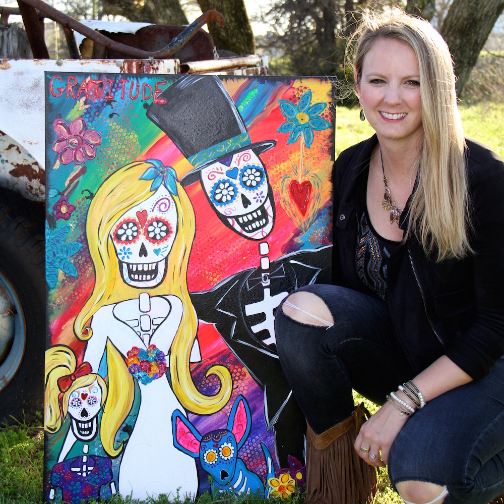 Photo: Heidi Easley, artist and founder of Texas Art and Soul; Credit: Bobby Easley