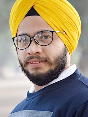 Photo: Taranpreet Singh, founder of The-Bloggist.com; Source: Courtesy Photo
