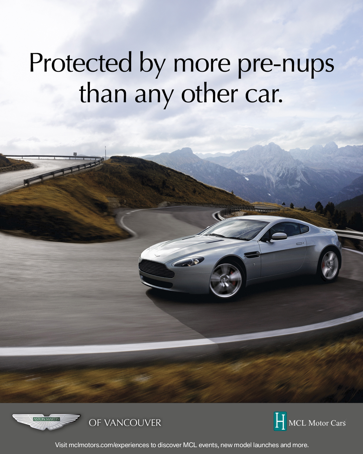 Aston Martin Used Cars Poster