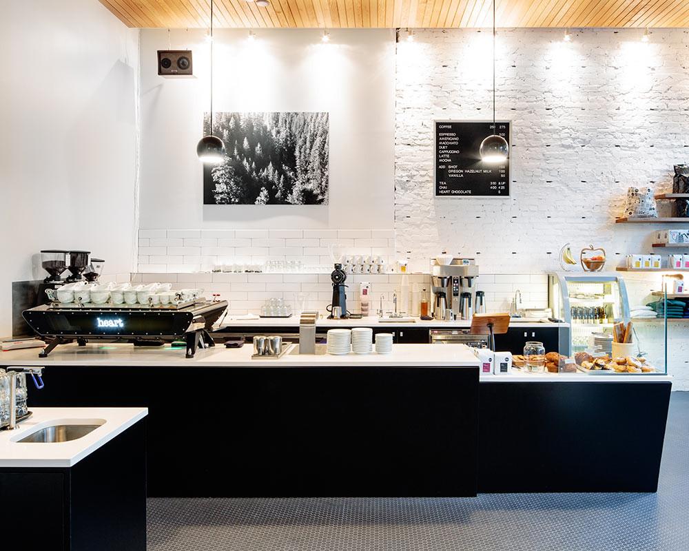 Photo: Heart Coffee Roasters in Portland, Ore.; Source: Courtesy Photo