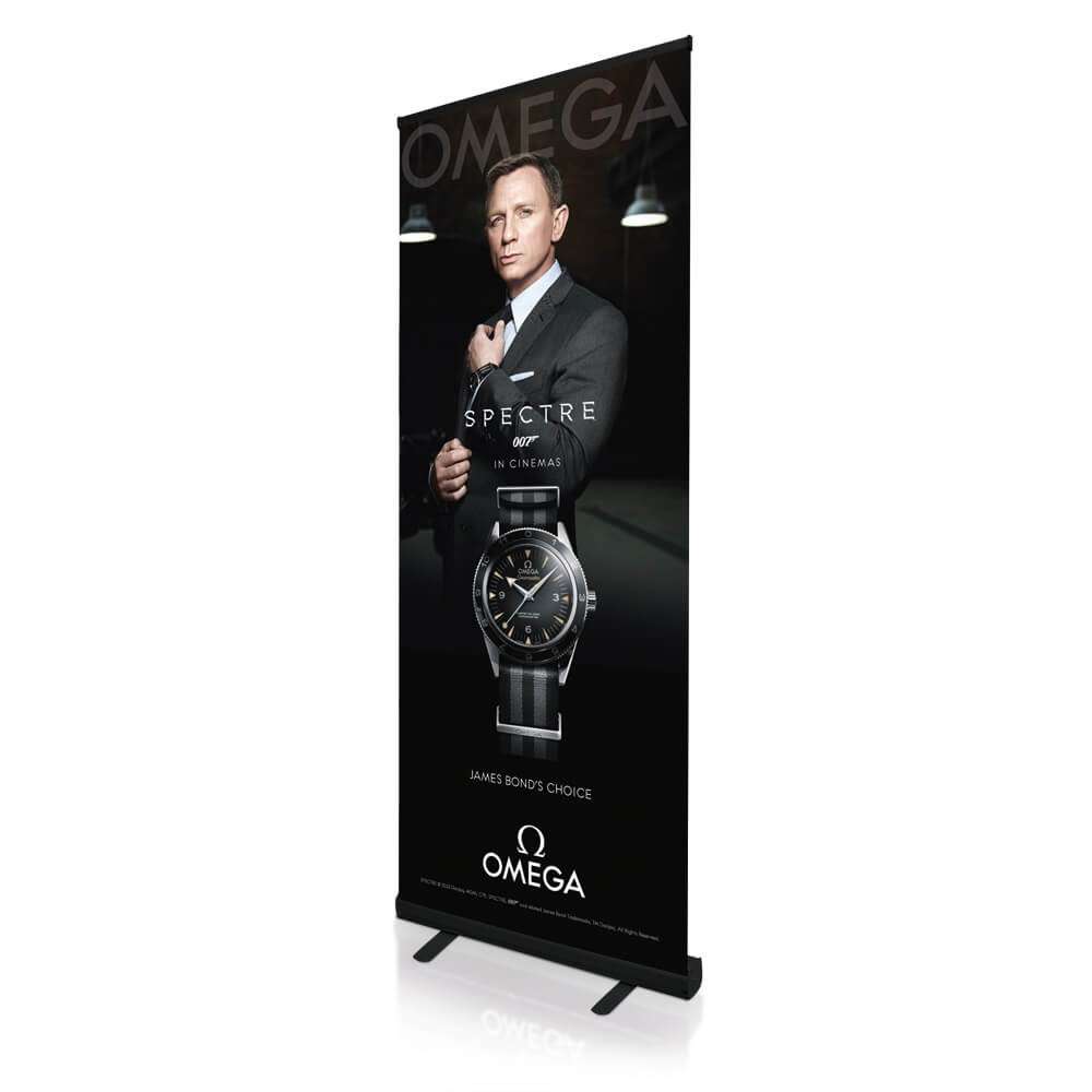 Photo: Roller Banner Stand; Source: Mydisplays.com