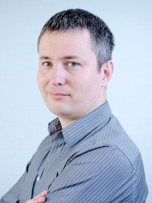 Photo: Max Hornostaiev is the CTO of Erminesoft; Credit: Igor Zaplavskiy