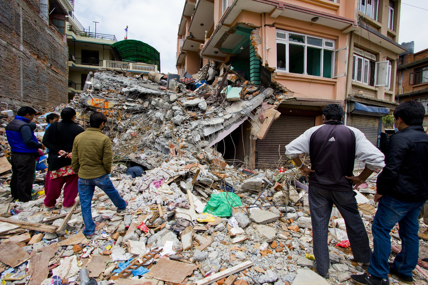 Photo: Earthquake in Nepal © lafaiet, YFS Magazine