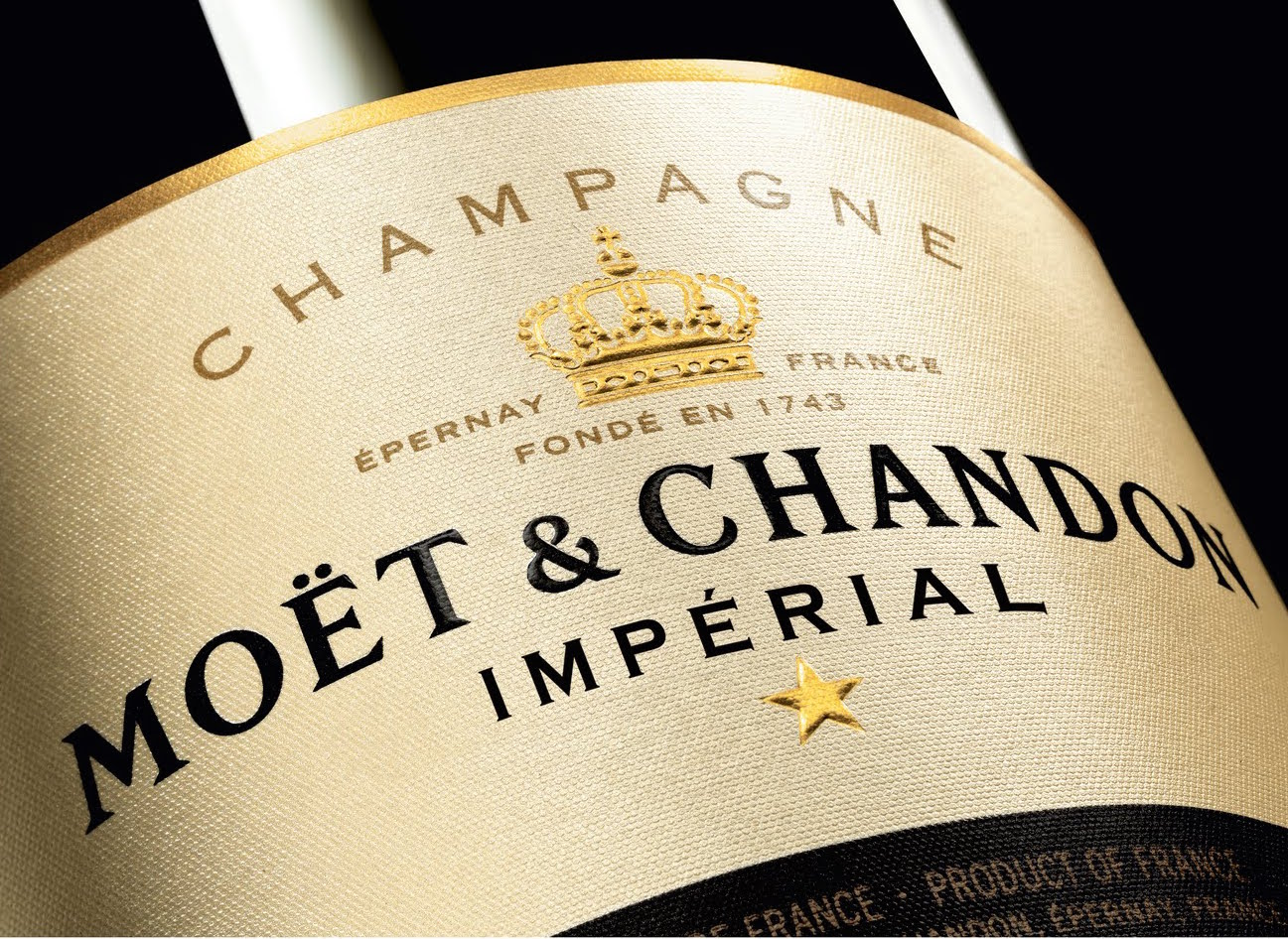 Photo: Moët & Chandon Imperial Champagne; Source: Moët