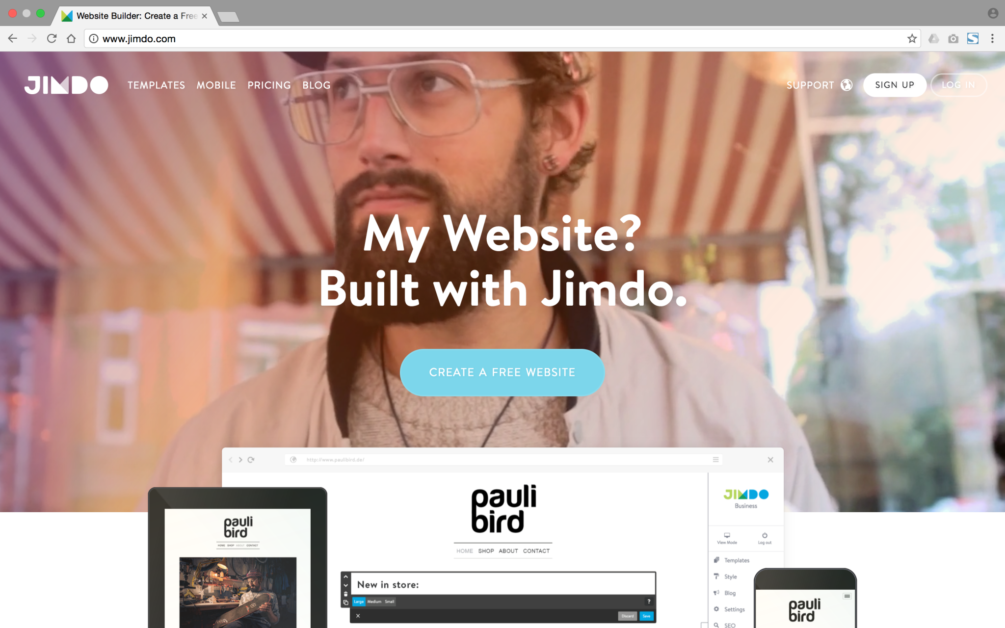 Website Builders For Startups And Small Businesses