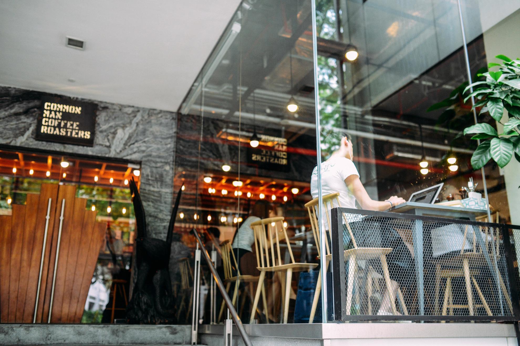 Photo: Common Man Coffee Roasters, Singapore Credit: Blake Wisz http://bit.ly/2he5p3n