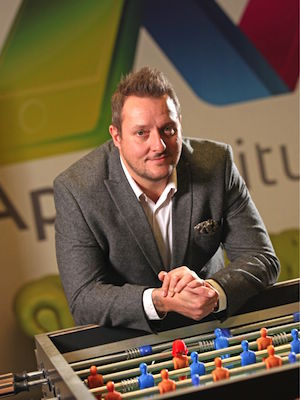 Photo: Ian Naylor, founder and CEO of AppInstitute; Source: Courtesy Photo