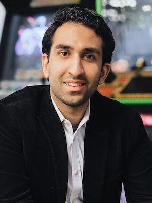 Photo: Manick Bhan, CEO and CTO at Rukkus; Credit: Lauren Kallen