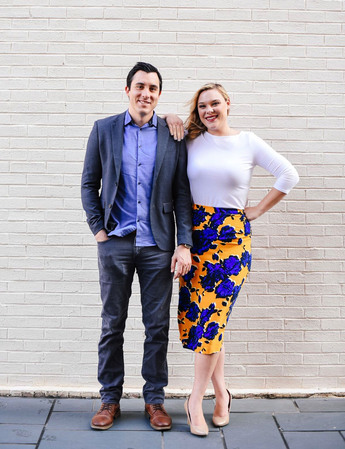 Photo: Jake and Belinda Hare, co-founders of Launchpeer; Source: Courtesy Photo