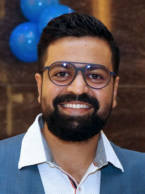 Pratik Dholakiya, co-founder of E2M and MoveoApps; Source: Courtesy Photo