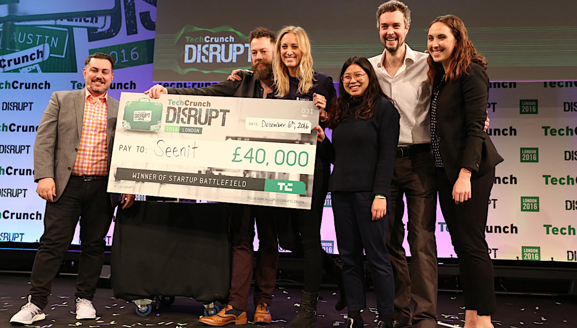 TechCrunch Disrupt 2017 Startup Battlefield