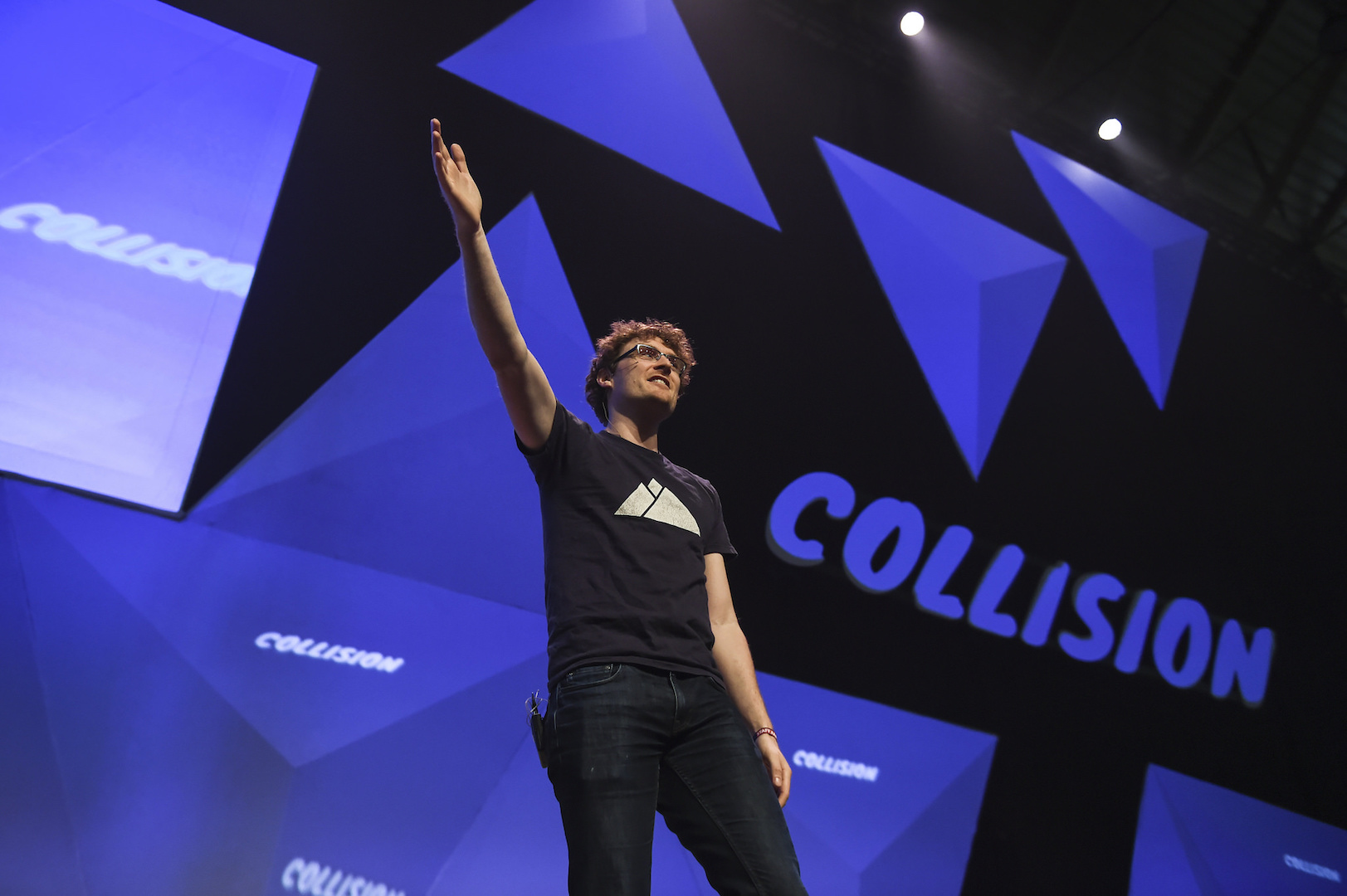 Photo: Paddy Cosgrave CEO, Collision & Web Summit; Credit: Stephen McCarthy/Collision via Sportsfile