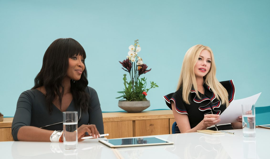 Photo: 'I Feel Pretty' movie: Naomi Campbell, Michelle Williams; Credit: STX Films