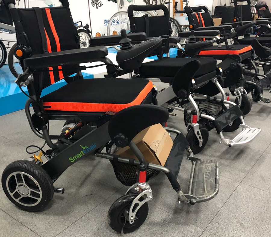 KD Smart Chair's new power wheelchair models on assembly line   Source: Courtesy