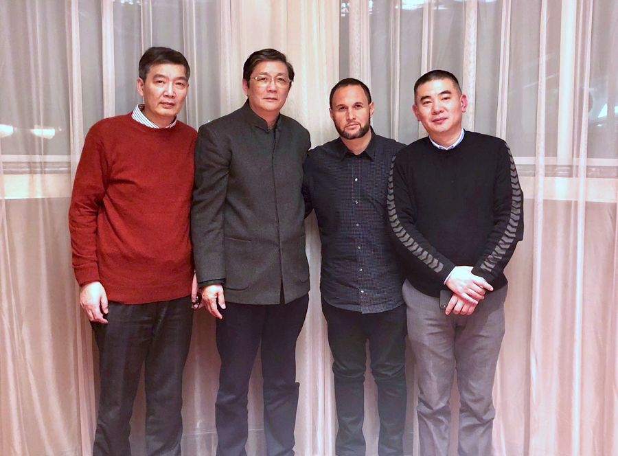 Roland Reznik, Co-founder and CEO of KD Smart Chair (Pictured second from right)   Source: Courtesy