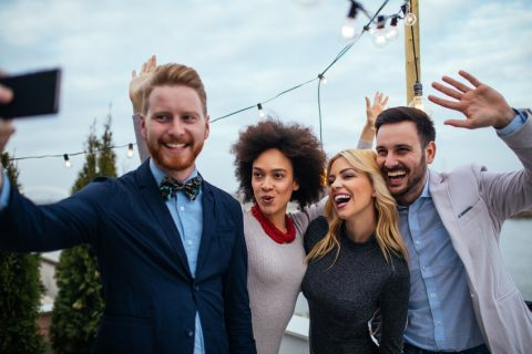 Stress-free mindset and approach to professional networking