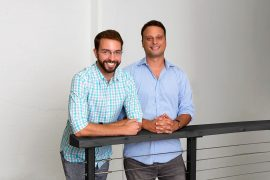Pictured Left to Right: Co-founder and CTO, Tom O'Neill; Co-founder and CEO, Harry Glaser | Courtesy Photo